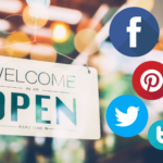 Business opening - social media